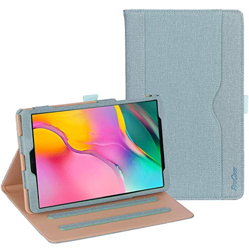 ProCase Galaxy Tab A 10.1 Case 2019 Model T510 T515 T517 - Stand Folio Case Cover for Galaxy Tab A 10.1 Inch 2019 Tablet SM-T510 SM-T515 SM-T517 -Teal