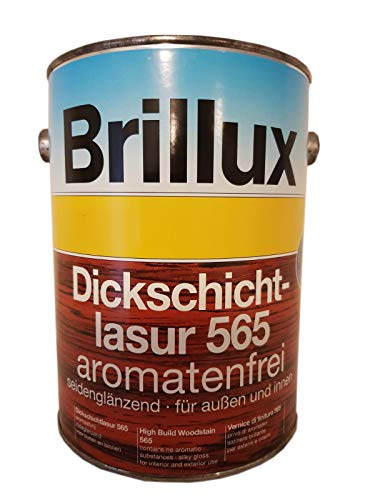 Brillux Dickschichtlasur 565 aromatenfrei seidenglänzend Farbwahl 0,75 L, Farbe:1412 Birke