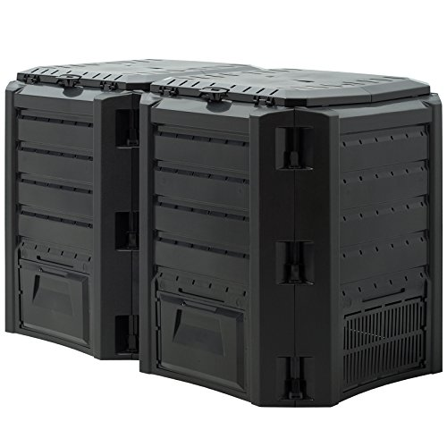 Deuba -  Komposter 800L 135 x
