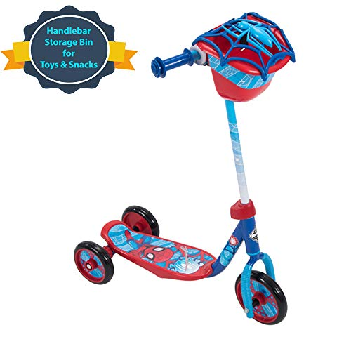 Discover Bargain Huffy Bicycle Company Marvel Spider-Man Preschool Scooter, One Size, Red
