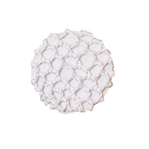 Petit filet à cheveux en ruban noué blanc 8 cm - Dancewear Ballet