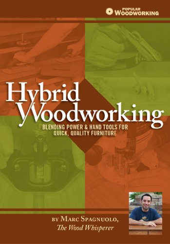 Hybrid Woodworking: Blending Power & Hand Tools for Quick, Quality Furniture (Popular...