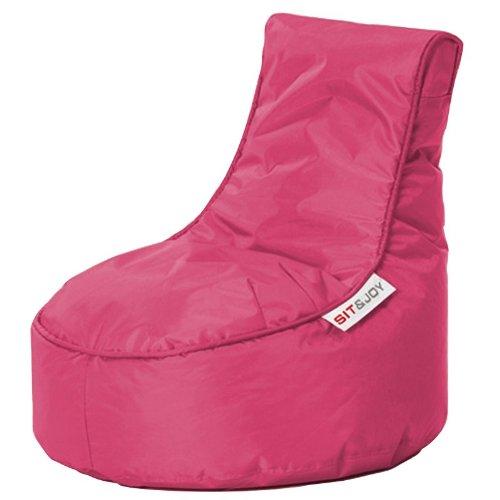 Sit & Joy 4.08106 Sitzsack Mini Balina ø 50 x 63 cm, rosa
