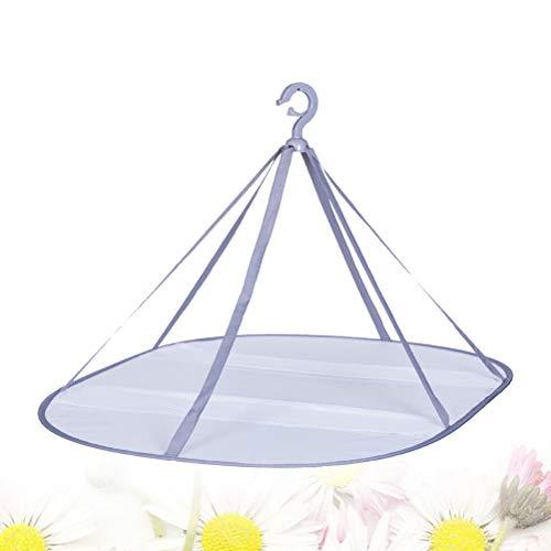 OUNONA洗濯物干しネット衣類乾燥ネット衣類型くずれ防止通風乾燥しやすい単層折りたたみ式