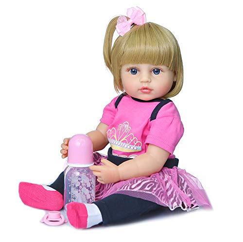 FACAZ Kleinkind Reborn Babypuppen 55 cm, 22