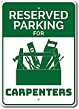 Froy Carpenter Carpenter Parking Carpenter Carpenter Tool Box Tool Box Quality Plaque...