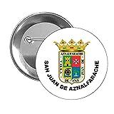 CHAPA ESCUDO HERALDICO SAN JUAN DE AZNALFARACHE SEVILLA