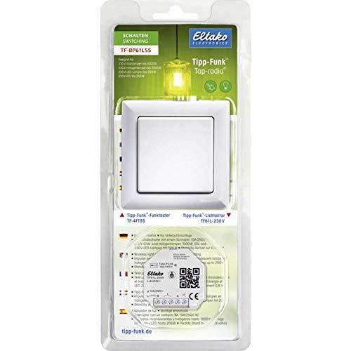 Eltako TF-BP61L55 Starterkit Beleuchtung Aufputz, Zwischenstecker Schaltleistung (max.) 1000W
