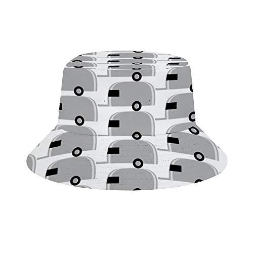 """NOT Airstream"""", Aluminium-Socken für Wohnmobil, Wohnmobil, Fan-Design, Unisex-Hut für den Sommer, Damen, Herren, Fischermütze, lässige Kappe, Reise, Strand, Sonnenhut, Outdoor-Cap"""