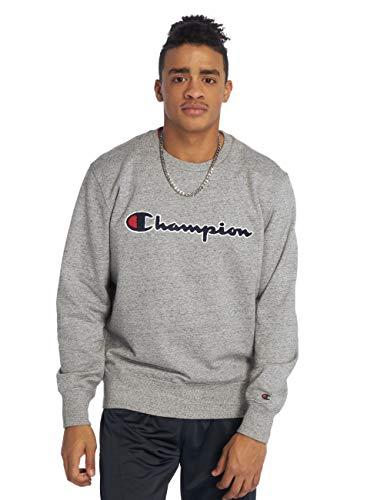 Champion Sweater Herren 212942 S19 EM017 GRLTM Grau, Größe:XL