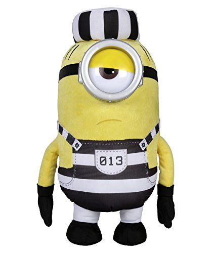 DESPICABLE ME Minion Mel preso de Peluche DM3 9081 (tamaño Grande)