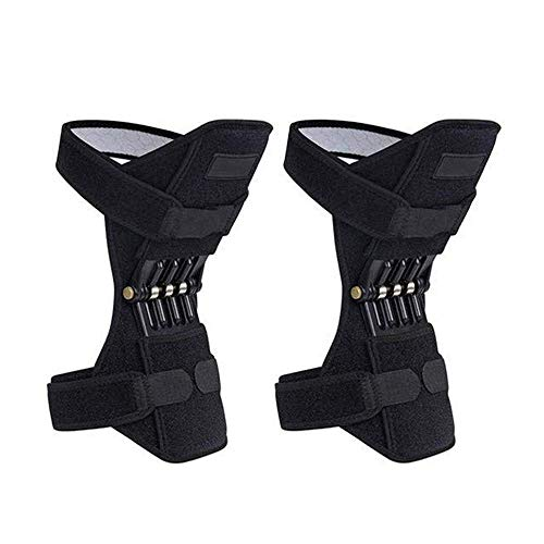 LHQ-HQ Pendientes de rodilla, almohadillas de soporte de juntas, correa de la rótula, elevadores de fuerza de la fuerza de resorte, protección de la rodilla Potentes levantamiento de elevación PowerLi
