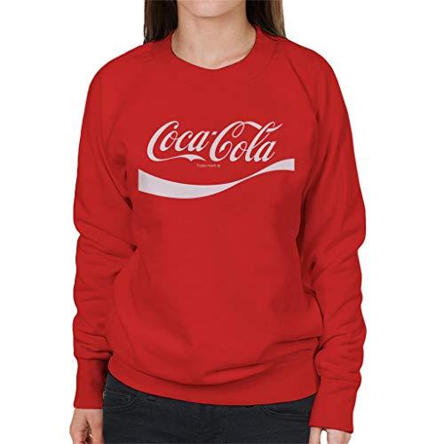 Coca Cola 1941 Swoosh Logo Women's Sweatshirt Red