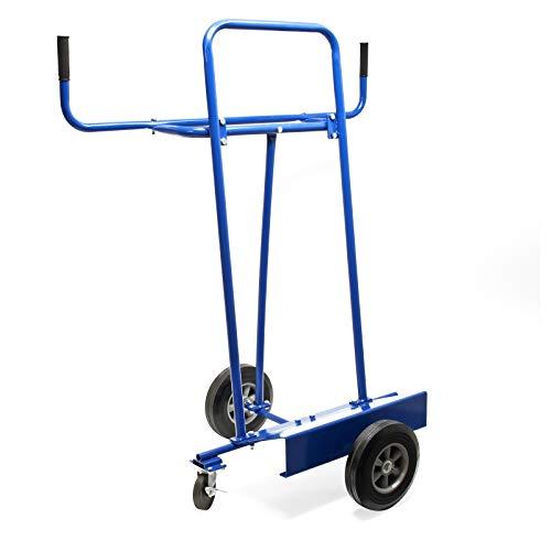 Plattenkarren bis 340kg Tragfähigkeit mit 4 Reifen zum Transport großflächiger Platten