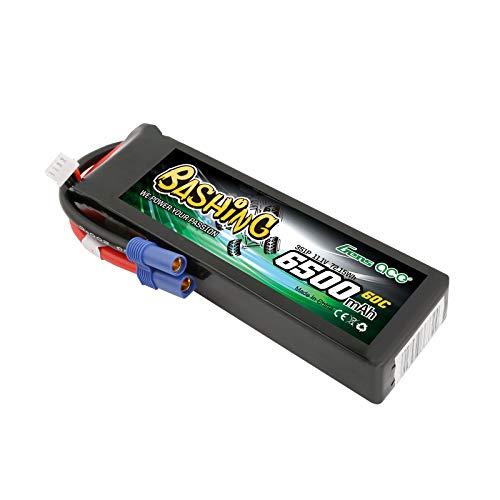 Gens ace 6500mAh 11.1V 3S1P 60C Lipo-Akku Avec EC5-Plug-Bashing-Serie