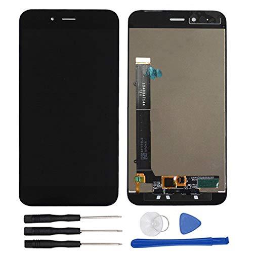 soliocial Asamblea Reemplazo Pantalla LCD Pantalla Táctil Vidrio para Xiaomi Mi A1 MiA1 / Mi 5X Mi5X 5.5 Inch Negro