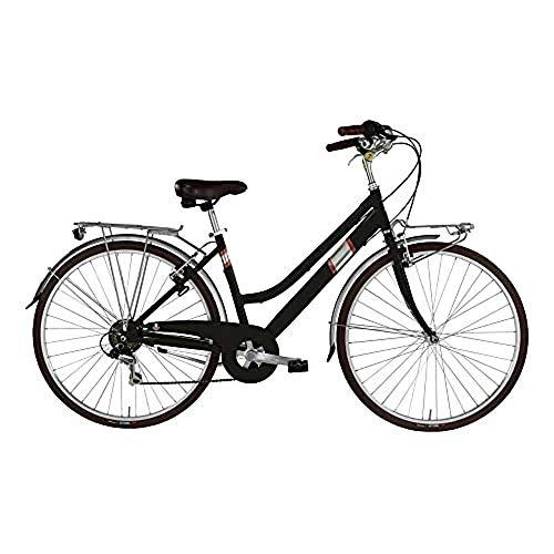 "Bicicletta Roxy 28"" Donna 6v, Nero"