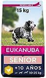 Eukanuba Alimento seco para perros viejos de razas medianas con pollo 15 kg