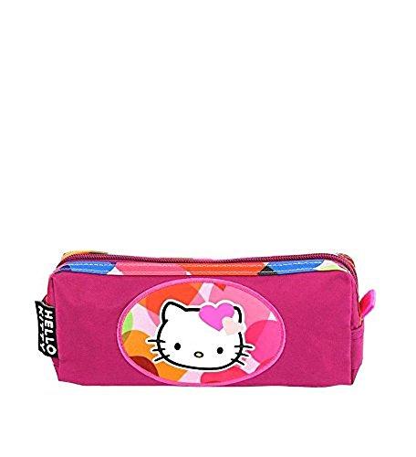 Trousse fille Hello Kitty en toile