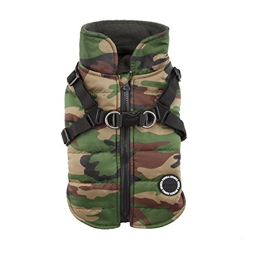 Puppia Mountaineer II Winter Vest, Large, Camo