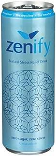Zenify Natural Stress Relief Drink - Zero Sugar - 12fl.oz. (Pack of 8)