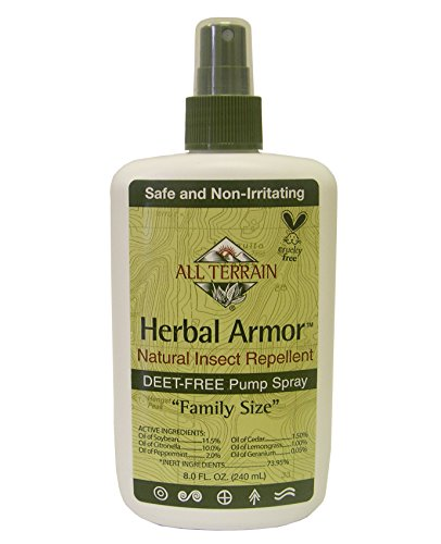 All Terrain Herbal Armor DEET-Free Natural Insect Repellent Spray (8 Ounce)