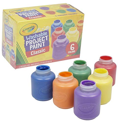 Crayola Washable Kid's Paint - 6 Per Package