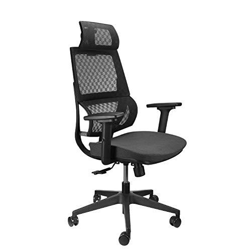 Argomax Mesh Office Chair, Ergonomics Mesh Chair Computer High Back Chair w/ 360 Swivel Self Adjustable Headrest and 3D Armrest