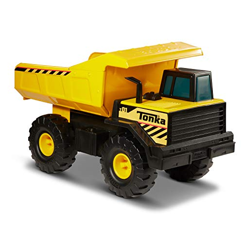 Tonka Classic Steel Mighty Dump Truck Vehicle, Single, Standard Packaging