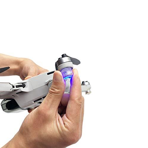 CUEYU - Faro LED Flash per DJI Mavic Mini Drone, 2 pezzi, luce di navigazione, luce notturna, luce stroboscopica compatibile con DJI Mavic Mini Drone