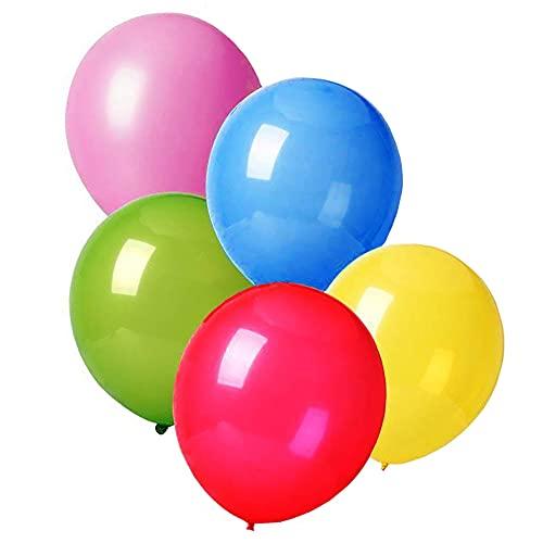 [100 Pezzi] Palloncini Colorati (3° Generazione) Palloncini Compleanno Bambina e Bambino...
