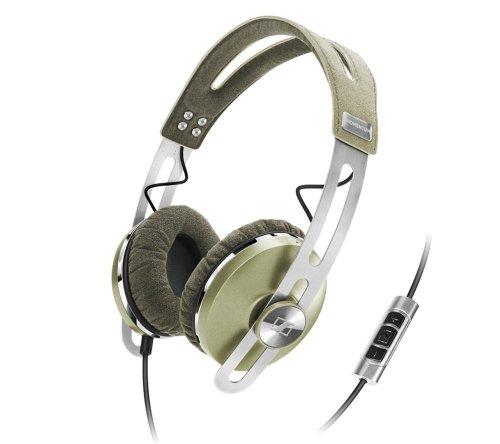 Sennheiser Momentum ON-EAR 505948 - Auriculares de diadema cerrados (Con micrófono, control remoto integrado), verde