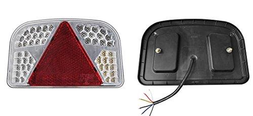 DC FEU 56 LED arrière Gauche - 6 Fonctions - 12v 24v Auto Caravane remorque