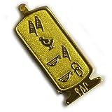 (展示品)ヒエログリフ ペンダント ゆきこ 名前ネームネックレス 象形文字 ピラミッド 古代エジプト文字 名前 ゴールド ネックレス 開運 パワーグッズ 聖刻文字