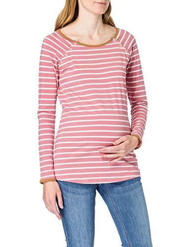 ESPRIT Maternity Damen ls yd T-Shirt, Rose Scent-663, L