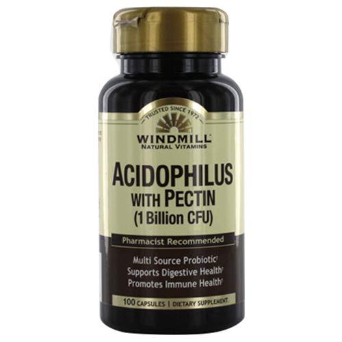 Windmill Acidophilus with Pectin Capsules, 100.0 Count