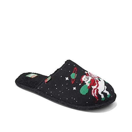Reef Men's Sandals | Tipsy Elves House Shoes, Christmas Unicorn, 13