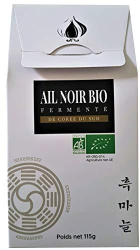 Santé NAT Black Garlic BIO (5 Bulbs – 115g) [2+1free | Premium | Original | Healthy | Korea]