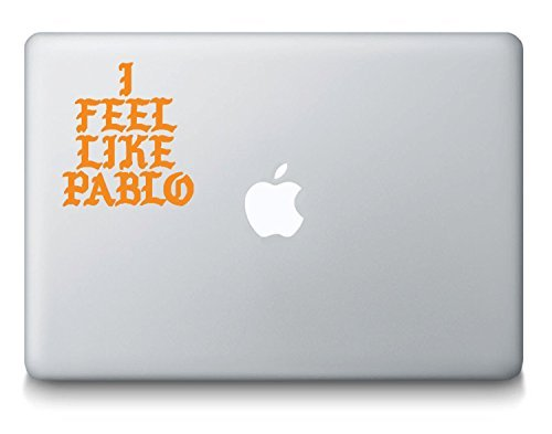YourChoiceDecals I Feel Like Pablo Logo Kanye West MacBook Laptop Decal - The Life Of Pablo - TLOP - Yeezy Shoes