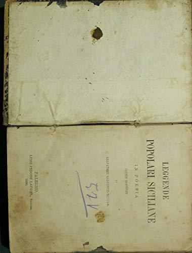 Leggende popolari siciliane in poesia : Raccolte ed annotate da Salvatore Salomone Marino