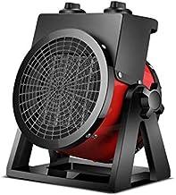 Calentador eléctrico Industrial eléctrico de Baja energía (2000W / 3000W) Distancia de Viento Alargada de 3m, se Puede Utilizar en Interiores y Exteriores, área de Uso: 10~30m2, Temperatura Consta