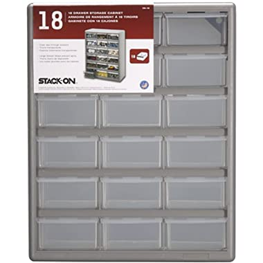 Stack-On DS-18-3 DS-18 18 Drawer Storage Cabinet
