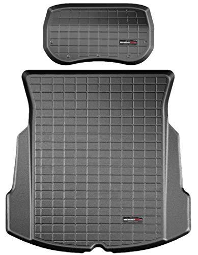 WeatherTech Kofferraumwanne passend für Tesla Model 3 1°Gen vorne und hinten 2017-19 Schwarz CargoLiner