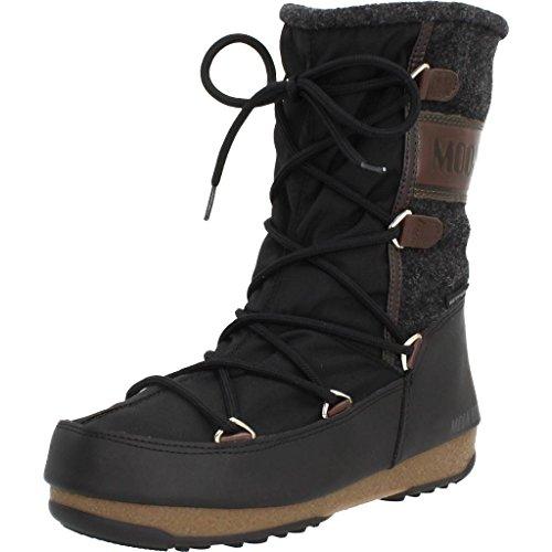 Moon Boot Chaussures Femme W.E. Vienne Sentir WP 24004400002 Taille 37 Nero/Testa Di Moro