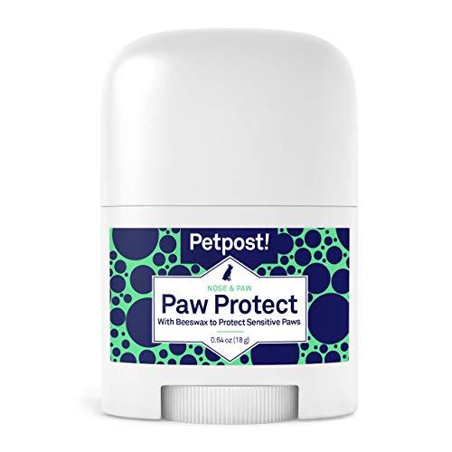 Petpost | Protection pour pattes de chien - Baume à l'huile de tournesol et à la cire d'abeille bio contre les trottoirs - Cire pour recouvrir les pattes et prévenir les brûlures causées par le chaud