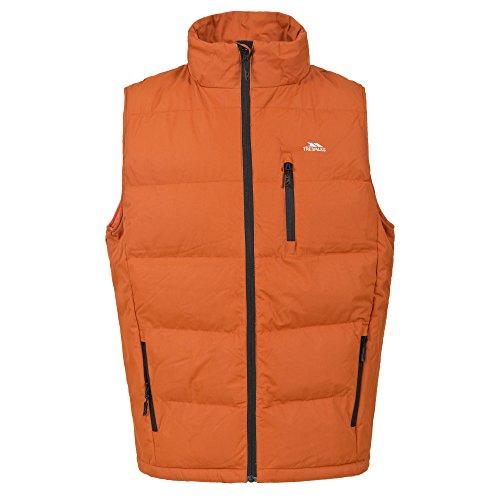 Trespass - Chaleco Acolchado Modelo Clasp para Hombre Caballero (XL) (Naranja)