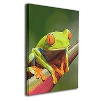 Skydoor J パネル ポスターフレーム カエル インテリア アートフレーム 額 モダン 壁掛けポスタ アート 壁アート 壁掛け絵画 装飾画 かべ飾り 50×40