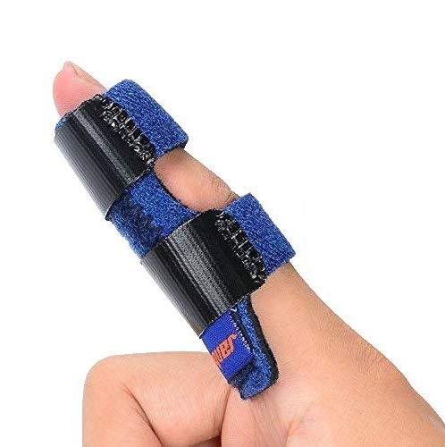 Trigger Finger Splint, Mallet Finger Brace, Finger Knuckle Immobilization for Index, Middle,Ring Finger-Tendon Release Pain Relief Broken Finger
