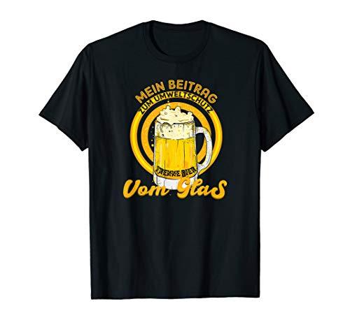 Bier & Umweltschutz I Alkohol Feier Sauf Saufen Motiv T-Shirt