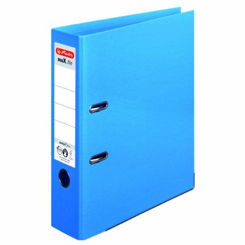 Herlitz 10834315 ordner maX.file protect+ A4, 8 cm lichtblauw